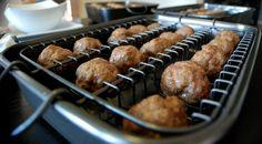 The Meatball Baker in action! #DavisonBalancingAct