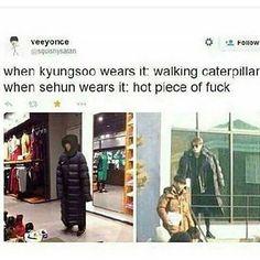 Lol Kyungsoo is so cute
