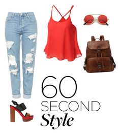 """""""90's"""" by elvirasalvatore on Polyvore featuring Topshop and Michael Kors"""