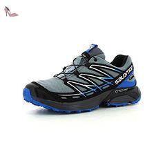 salomon wings flyte gtx chaussures de trail hommes bleu bleu