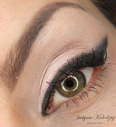 'Corrupt With Line' by Dzastina252 using Makeup Geek Corrupt, and Shimma Shimma.
