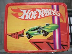 Vintage 1969 Hot Wheels Metal Lunchbox by Thermos w Thermos | eBay