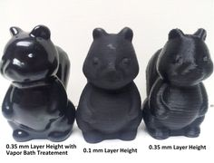 How to polish your 3D-Printed objects- now thats a skill we will all need someday  Might be good to know....