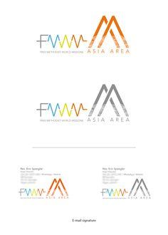 Logo FMWM - Asia Area :: designed by Sandra H. V.