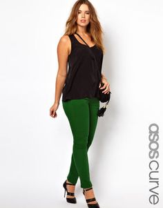 I love a basic black tank dress! ASOS CURVE Exclusive Body ...