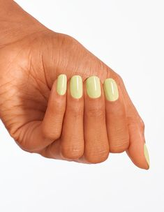 Get a glimpse of Tokyo with the OPI Spring collection and How Does Your Zen Garden Grow? Check out this and other new Infinite Shine shades! Interview Nails, Lime Green Nails, Long Lasting Nail Polish, Zen, Green Nail Polish, How To Grow Nails, Dry Nails, Gel Color, Nail Artist