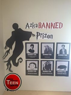 Teen Banned Book Week Display... a great idea I saw on Pinterest and had to make!