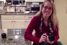An Easy Way to Move out of Auto on your DSLR ... photography tutorial for beginners.