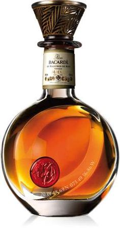 Bacardi Limited Celebrates 150th Birthday With $2,000 Decanter #Luxury #Drinks