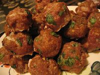 Low-Carb Turkey Meatballs with Romano Cheese and Herbs (Phase One ...