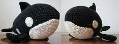 Wie du einen Orca Wal häkeln kannst zeige ich dir in dieser kostenlosen Häkela… How to crochet an Orca whale I'll show you in this free crochet pattern. The crocheted Orca whale gets pretty big and is therefore great Crochet Gratis, Crochet Toys, Free Crochet, Crochet Whale, Knitting Projects, Crochet Projects, Baby Knitting Patterns, Crochet Patterns, Tilda Toy