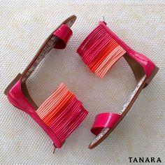Economia balanceada é segurar um sapato em cada mão. hihihihi Rasteira Tanara ref. N7544