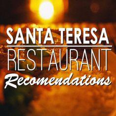 Places to eat in Santa Teresa, Costa Rica