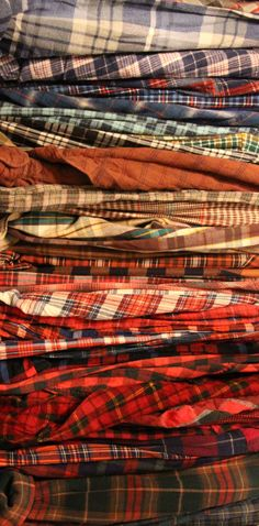 In love with flannel as much as anyone else.