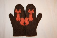 Ideas Knitting Charts Fox Products For 2019 Crochet Mittens, Crochet Gloves, Knit Crochet, Fox Pattern, Mittens Pattern, Knitting Charts, Knitting Patterns, Crochet Headband Pattern, Crochet Needles
