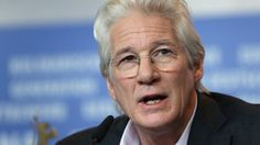Actor Richard Gere speaks during a press conference for the film 'The Dinner' at the 2017 Berlinale Film Festival in Berlin, Germany, Friday, Feb. 10, 2017.