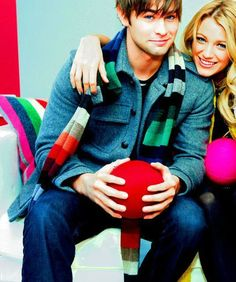 His face. Chace Crawford and Blake Lively