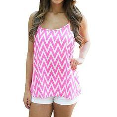 4e2aa2e6b4ab5 Summer Fashion Loose Strap Camisole Tank Top