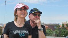 PHOTO: Mark Kelly and Gabby Giffords - ABC News