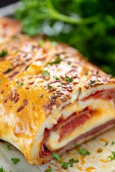 Zesty cheesy and perfect for pizza night. Zesty cheesy and perfect for pizza night this Italian Meat Stromboli recipe is an easy and delicious addition to your weeknight routine! Italian Meats, Italian Dishes, Italian Recipes, Italian Meat Bread Recipe, Italian Lunch, Italian Night, Meat Recipes, Seafood Recipes, Dinner Recipes