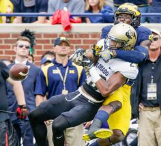 Ahkello Witherspoon : College football: Best images from Week 3 College Football Season, Conference, Shots, Big, Image