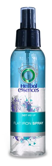 Another haircare must-have, especially if you're using a blow dryer, flat iron, or curling iron/wand, is a good heat protection spray! #herbalessences #influenster