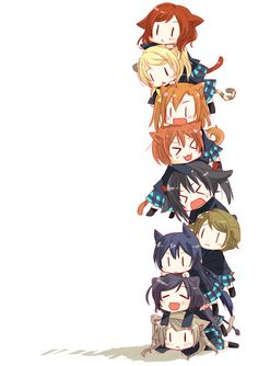 So I'm practically saying all the characters from love live are my smol children