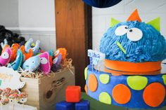 The most adorable Monster Party you'll see all day!