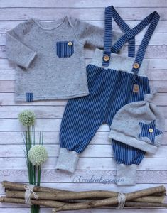 Gift i… – Cute Adorable Baby Outfits Cute Outfits For Kids, Baby Boy Outfits, Sewing For Kids, Baby Sewing, Baby Boy Fashion, Kids Fashion, Baby Kostüm, Baby Posters, Shower Bebe