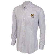 Jon Idea: size medium. Bring the Missouri Tiger presence to the office with this Mizzou dress shirt.Fabric