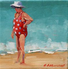 Carol Carmichael Paints: beach cammo