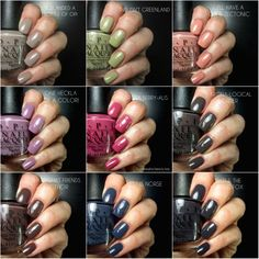 OPI · Iceland Collection, Fall/Winter 2017 | ommorphia beauty bar