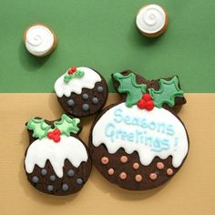 9 Best Christmas Custom Cookies Images In 2014 Cookie Gifts