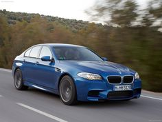2012 BMW M5 - feel the speed.