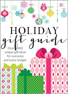 The Ultimate Holiday Gift Guide - Gifts for Big Girls - http://akadesign.ca/the-ultimate-holiday-gift-guide-gifts-for-big-girls/