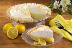 Receta de Pie de limon frio con leche condensada o lechera