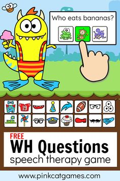 Free Speech Therapy Game!