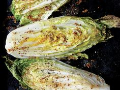 Sweet and Sour Roasted Napa Cabbage Wedges - Cabbage Recipes - Cooking Light Best Cabbage Recipe, Napa Cabbage Recipes, Vegetarian Recipes, Cooking Recipes, Healthy Recipes, Kitchen Recipes, Healthy Cooking, Healthy Eating, Side Dish Recipes