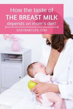 How the Breastmilk Taste Depends on Mom's Diet | Breastmilk taste | Breastfeeding tips