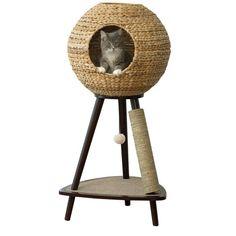 "Found it at Wayfair - 44"" Sphere Scratch Post Cat Tree"