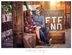Distillery District Engagement Photo | Melissa Avey Photography | Toronto #distillery