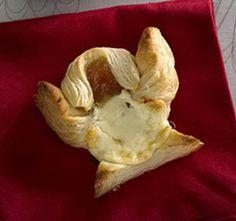 Enkeli Joulutortut valkosuklaa-aprikoositäytteellä Dairy, Cheese, Food, Hoods, Meals