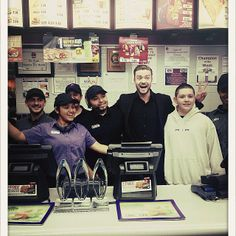 Justin Timberlake hit up Taco Bell after the PCAs!