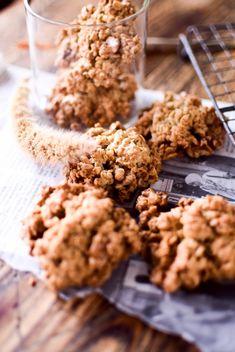 「おからのオートミールクッキー」kaiko | お菓子・パンのレシピや作り方【cotta*コッタ】 Sweets Recipes, Desserts, Biscuit Cookies, Scones, Biscuits, Vegan, Cooking, Healthy, Breakfast