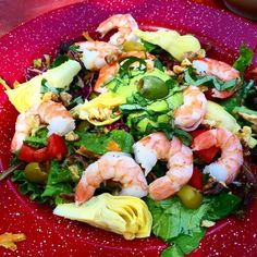 My Super Shrimp Salad!