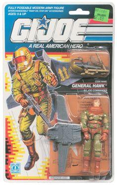 General Hawk (v1) G.I. Joe Action Figure - YoJoe Archive