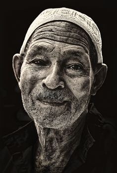 ♂ Man portrait Black and white