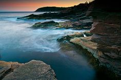 Acadia National Park, Maine. Studied marine biology here for many summers. I miss it a lot.