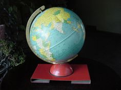 1940s globe