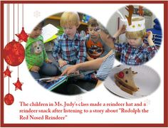 Fun activities to do after reading Rudolph the Red Nosed Reindeer!